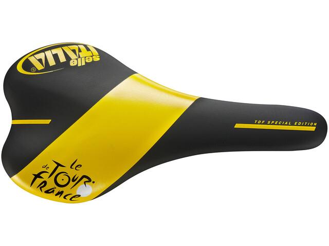 Selle Italia SLR TI316 TDF Saddle black/yellow